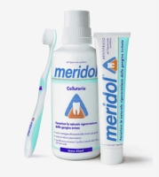 meridol Linea Igiene Dentale Quotidiana 1 Spazzolino Medio Gengive Irritate